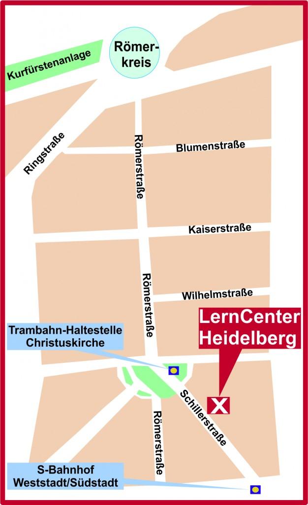 Nachhilfeunterricht im LernCenter Heidelberg